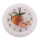 "Часы настенные круглые ""Мандарин"", кухонные"