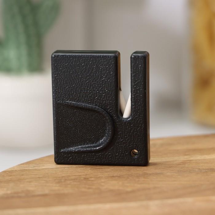 Sharpener for ceramic knives