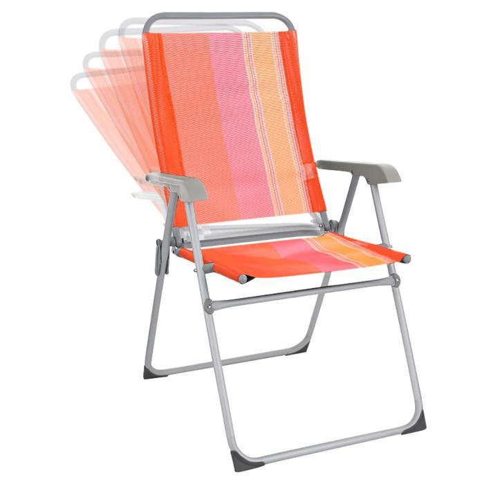 Кресло BOYSCOUT ORANGE, 5 положений, алюминиевый каркас, 67x59x100 см - фото 9216488