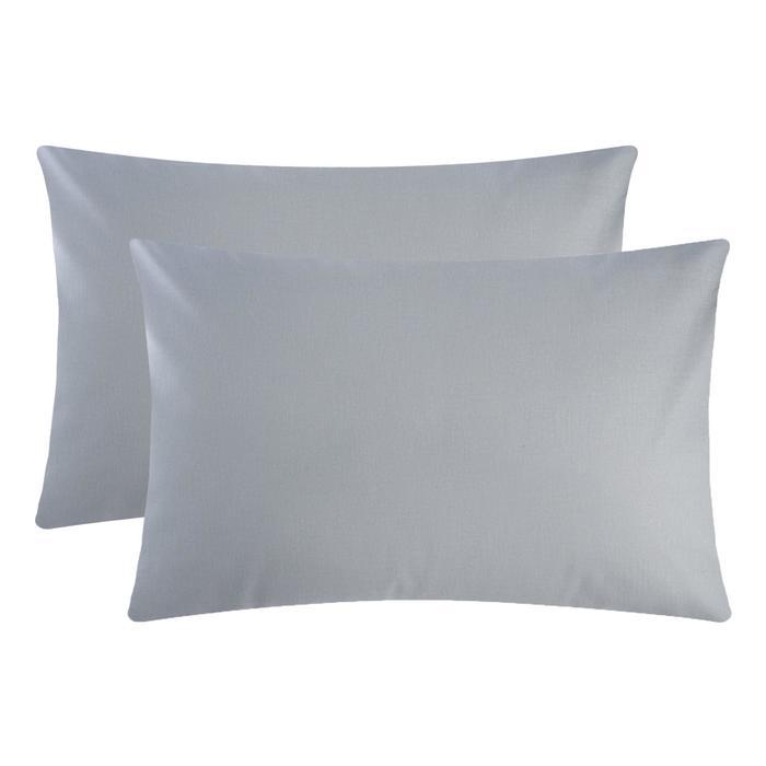 Комплект наволочек Этель Grey 50х70 см - 2 шт, 100 % хлопок, поплин - фото 9217024