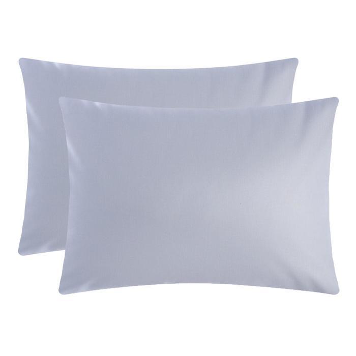 Комплект наволочек Этель Grey 1 50х70 см - 2 шт, 100 % хлопок, поплин - фото 9217027