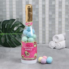 Бомбочки для ванны Avocado bubble 20 г х 30 шт в шампанском