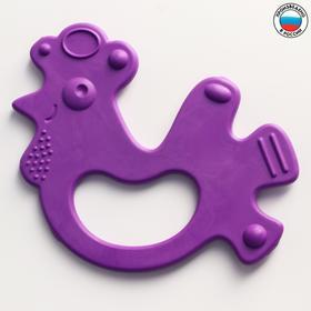Прорезыватель силиконовый «Петушок», цвет МИКС