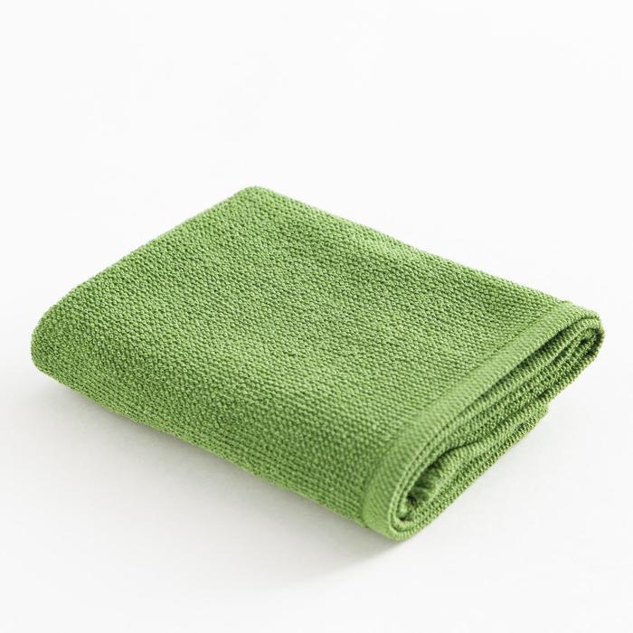 Полотенце махровое Экономь и Я 30х60 см, цв. лаймовый, 100% хл, 260 гр/м2 - фото 9217107