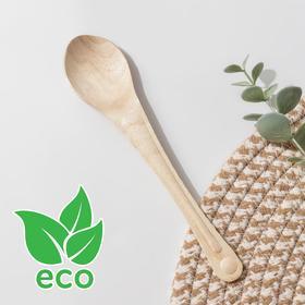 Ложка деревянная одноразовая, 18 см, эко, берёза