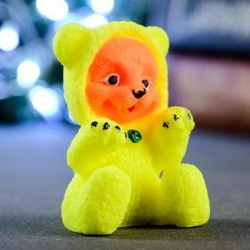 """Мыло фигурное """"Тигрёнок в жёлтой пижаме сидит"""" 55гр"""