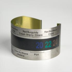 Термометр браслет для вина