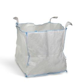 Контейнер МКР, 1500 кг, 95 × 95 × 100 см, сплошное дно, 4 стропы