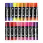 Набор маркеров профессиональных двусторонних 120 штук/120 цветов - фото 852289