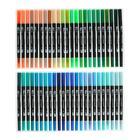 Набор маркеров профессиональных двусторонних 120 штук/120 цветов - фото 852290