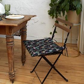 Сидушка на стул Этель Succulents 42х42см, 100% хл, 190 г/м2