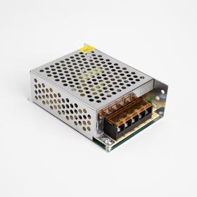 Блок питания для светодиодной ленты General, 60 Вт, 110х78х38 мм, 220-12 В, IP20