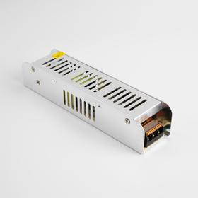 Блок питания для светодиодной ленты General, 150 Вт, 187х45х35 мм, 220-12 В, IP20