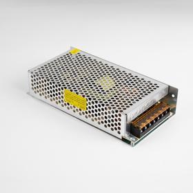 Блок питания для светодиодной ленты General, 200 Вт, 198х98х42 мм, 220-12 В, IP20