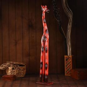 """Сувенир """"Жираф"""" дерево 100х18х11 см"""