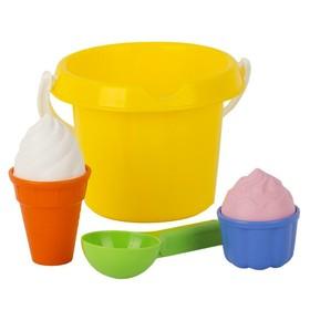 Песочный набор «Мороженое»