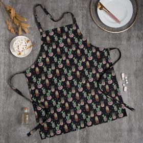 Фартук Этель Succulents 60х70см, 100% хл, саржа 190 г/м2