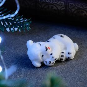 """Мыло фигурное """"Тигрёнок спит"""" белое, 20гр"""