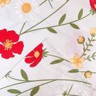 Постельное белье Этель Flower field 1.5 сп 143*215 см, 150*214 см, 70*70 см - 2 шт - фото 854494