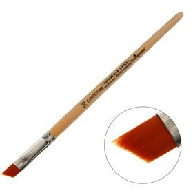 Кисть Синтетика Наклонная № 10 Calligrata (d-10 мм ; L-7/10 мм) ручка дерево