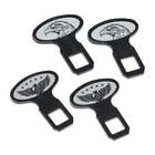Заглушки замка ремня безопасности Nova Bright, пластиковые, набор 2 шт, микс - фото 234645