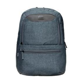 Рюкзак молодежный, GoPack 119, 43.5x30x11 см, эргономичная спинка, синий