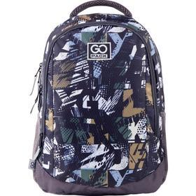 Рюкзак молодежный, GoPack 133, 43x30x16 см, эргономичная спинка, Urban