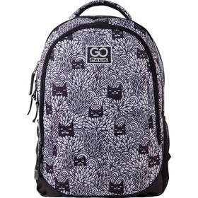 Рюкзак молодежный, GoPack 133, 43x30x16 см, эргономичная спинка, Black cats
