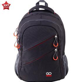 Рюкзак молодежный, GoPack 110, 50x33x15 см, эргономичная спинка, Сity Red