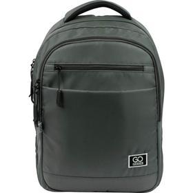 Рюкзак молодежный, GoPack 143, 40x30x11 см, эргономичная спинка, хаки