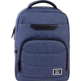 Рюкзак молодежный, GoPack 144, 41x29x12 см, эргономичная спинка, синий