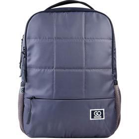 Рюкзак молодежный, GoPack 164, 41.5x28x12 см, эргономичная спинка, серый