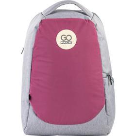 Рюкзак молодежный, GoPack 169, 43x28x10 см, эргономичная спинка, розовый