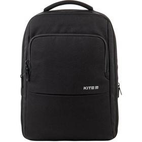 Рюкзак молодёжный, Kite 2579, 43.5 х 30 х 16 см, эргономичная спинка, Сity, чёрный