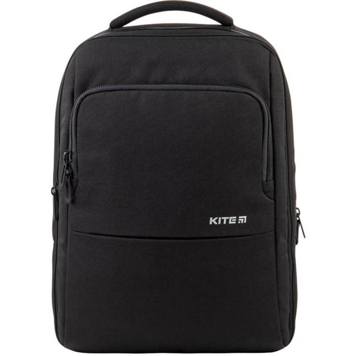Рюкзак молодёжный, Kite 2579, 43.5 х 30 х 16 см, эргономичная спинка, Сity, чёрный - фото 855768