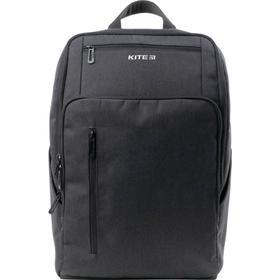 Рюкзак молодёжный, Kite 2580, 44.5 х 30 х 16 см, эргономичная спинка, Сity, серый