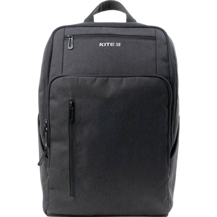 Рюкзак молодёжный, Kite 2580, 44.5 х 30 х 16 см, эргономичная спинка, Сity, серый - фото 855777