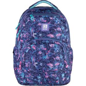 Рюкзак молодёжный, Kite 903, 44 х 31.5 х 14 см, эргономичная спинка, фиолетовый