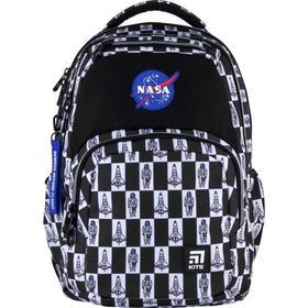 Рюкзак молодёжный, Kite 903, 44 х 31.5 х 14 см, эргономичная спинка, чёрный/белый