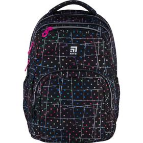 Рюкзак молодёжный, Kite 903, 44 х 31.5 х 14 см, эргономичная спинка, чёрный