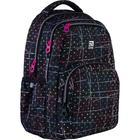 Рюкзак молодёжный, Kite 903, 44 х 31.5 х 14 см, эргономичная спинка, чёрный - фото 855805