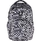 Рюкзак молодёжный, Kite 903, 44 х 31.5 х 14 см, эргономичная спинка, чёрный/белый - фото 855812