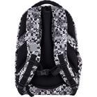 Рюкзак молодёжный, Kite 903, 44 х 31.5 х 14 см, эргономичная спинка, чёрный/белый - фото 855814