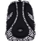 Рюкзак молодёжный, Kite 903, 44 х 31.5 х 14 см, эргономичная спинка, чёрный/белый - фото 855815
