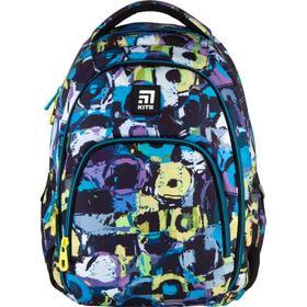 Рюкзак молодёжный, Kite 905, 42 х 32 х 13 см, эргономичная спинка, паттерн