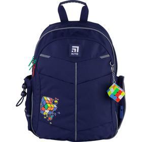 Рюкзак школьный, Kite 771, 36 х 25 х 12 см, эргономичная спинка, Rubik's cube