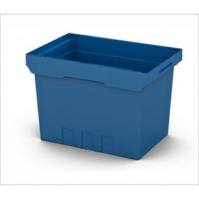 Контейнер вкладываемый 640х400х420 синий