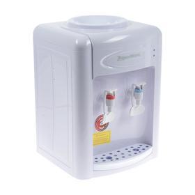 Кулер для воды AquaWork AW 0.7TDR, с нагревом/охлаждением, 700 Вт, белый