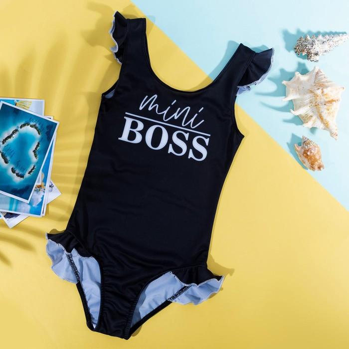 Купальник детский KAFTAN Mini boss, рост 122-128 (34) - фото 1606259