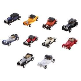 Машина «Винтажная», масштаб 1:34-39, цвета МИКС